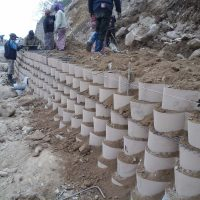 Geocell Retaining Wall Systems